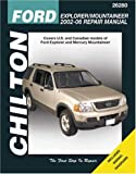 Ford Explorer and Mercury Mountaineer, 2002-06, Robert Maddox, 1563926849