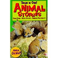 """Three in One: Animal Stories: """"Stories from Firefly Island"""", """"Winged Colt of Casa Mia"""", """"Farthing Wood, The Adventure Begins"""""""