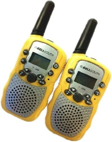 T-388 Mini Walkie Talkie 1W 462-467MHz Two Way Radio Yellow