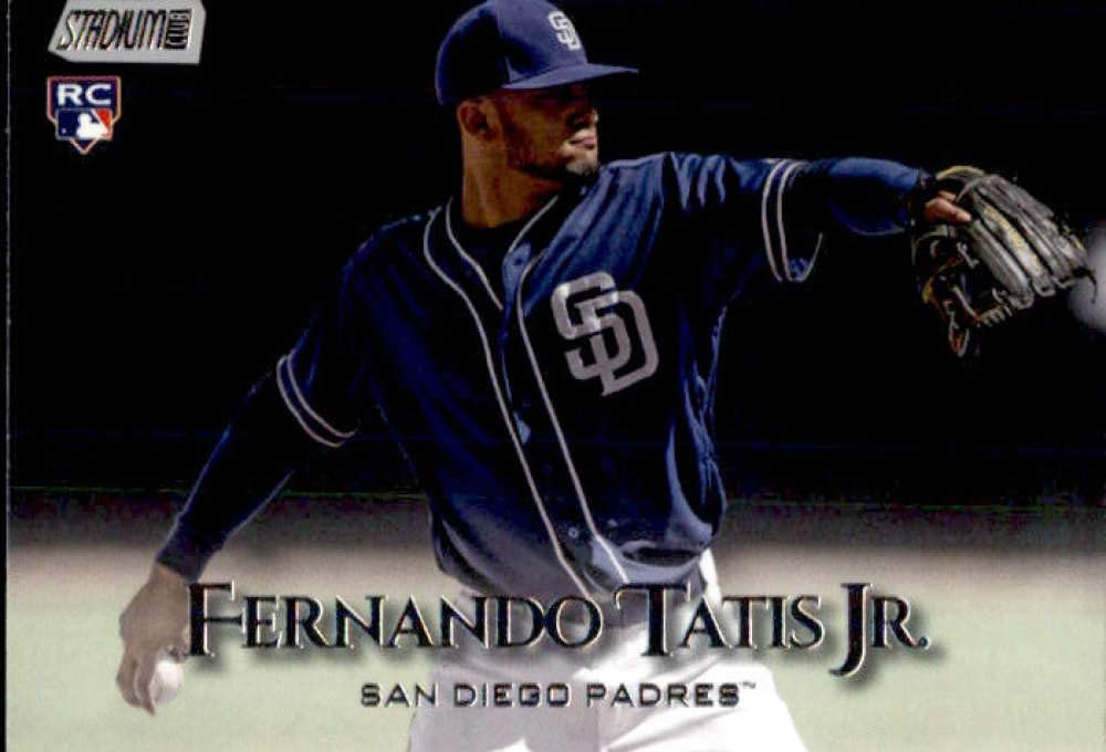 San Diego Padres Rookie Baseball Card 2019 Topps Stadium Club #88 Fernando Tatis Jr
