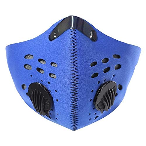 Mo Blue Tigers - Tool Parts - Bike Bicycle Riding Pm2.5 Gas Protection Filter Respirator Dust Mask Head Summer - Direct Organizer Parts Cart Tray Tool Storage Tool Parts Filter Blue Lavender Flower Water Tiger Mo