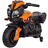 Rip-X'My First' Kids Motorbike Electric 6V Ride On Toy - Suitable For 3 to 5 Years - Choice of Colours (Orange)
