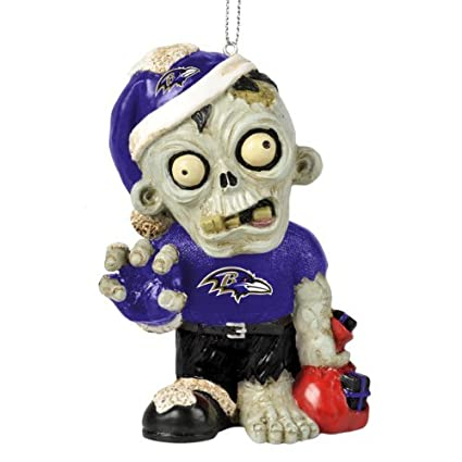 nfl 2014 zombie christmas hanging ornament 4 - Nfl On Christmas 2014