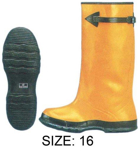 ToolUSA Rubber Slush Boots - 17 Tall - Over the Shoe - Size -15: RAIN-41510 dzj1UNTS