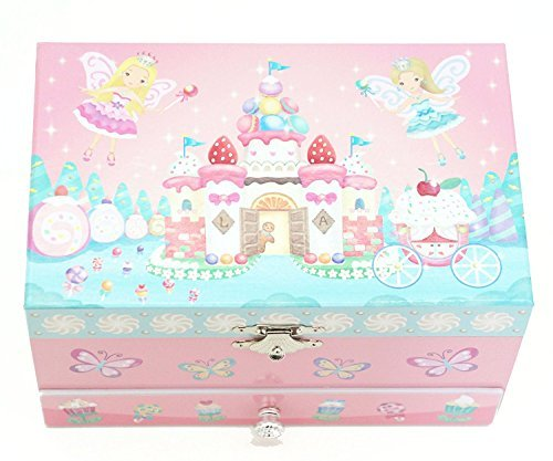Lily & Ally / Sweets Fairy Musical Jewelry Box, with Melody of