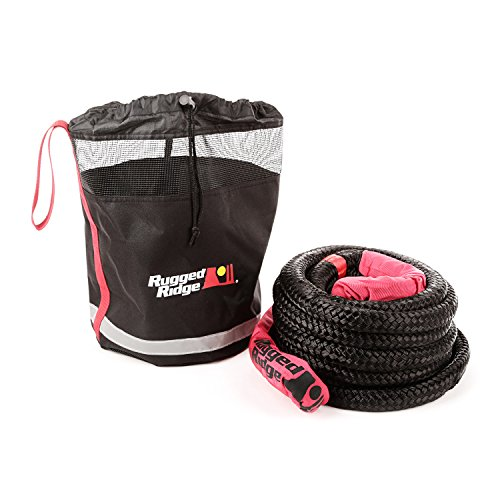 Rugged Ridge 15104.3 Kinetic Recovery Rope with Cinch Storage Bag