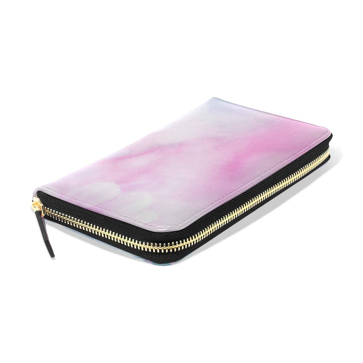 Amazon.com: Abstract Feather Rainbow Patchwork - Monedero ...
