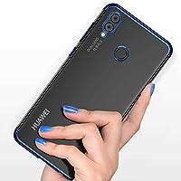 Huawei P20 LiTE Kenarı Renkli Silikon Esnek Kılıf