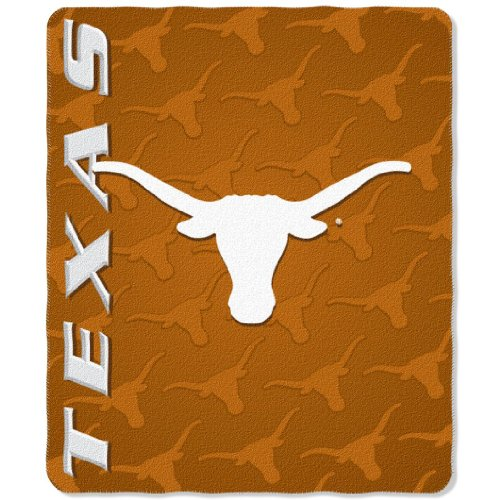 Texas Longhorns 50x60 Fleece Blanket - Mark Design