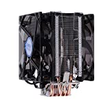 Vanpower Dual Fan CPU Quiet Cooler Heatsink for Intel LG775 LG115X for AMD FM2 FM1 A