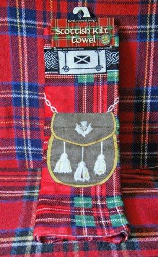 Scottish Kilt Towel Royal Stewart Design J&A Mcdougall RS1