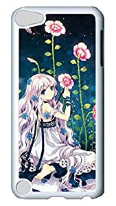 Brian114 Case, iPod Touch 5 Case, iPod Touch 5th Case Cover, Anime Girls 11 Retro Protective Hard PC Back Case for iPod Touch 5 ( white )