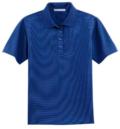 Port Authority - Ladies Dry Zone; Ottoman Sport Shirt. >> L,Royal