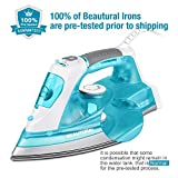 BEAUTURAL 1800 Watt Steam Iron for Clothes with