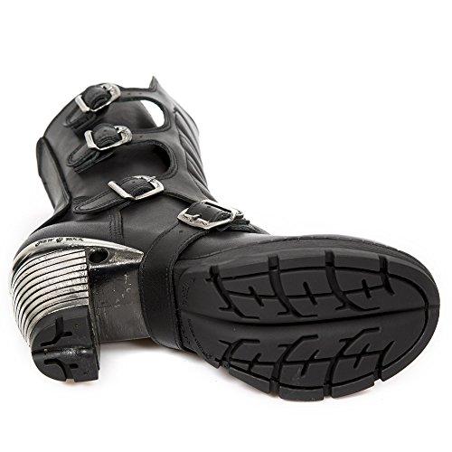 Rock M Motociclista tr003x da s2 Black Donna New Stivali wqW5HUTd
