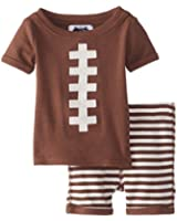 Mud Pie Baby Boys' Football Two Piece Set