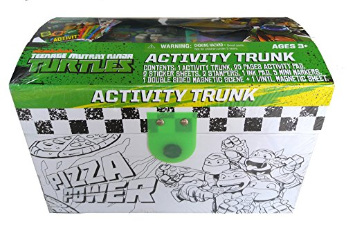 Nickelodeon Teenage Mutant Ninja Turtles Activity Trunk Art and Craft Playset -