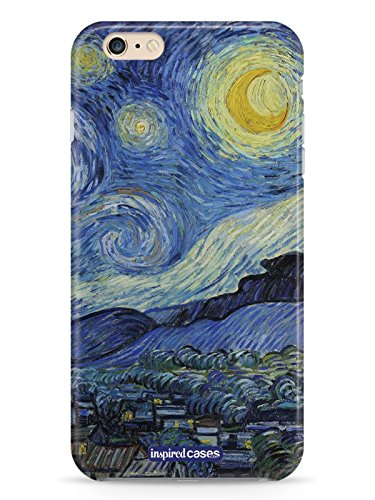sale retailer c88b4 97f1d Inspired Cases 3D Textured Vincent van Gogh - Starry Night Case for iPhone  6 & 6s