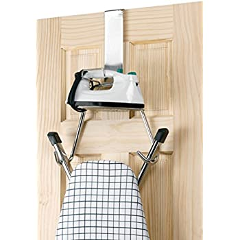 Whitney Designs Household Essentials 126 T-Leg Over The Door Ironing Board Holder