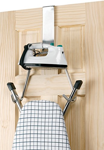 Polder 90617-05 Over the Door Iron and Board Holder - Chrome by Polder