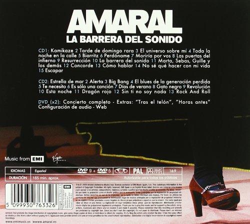 - La Barrera Del Sonido (+ 2 Dvd) - Amazon.com Music