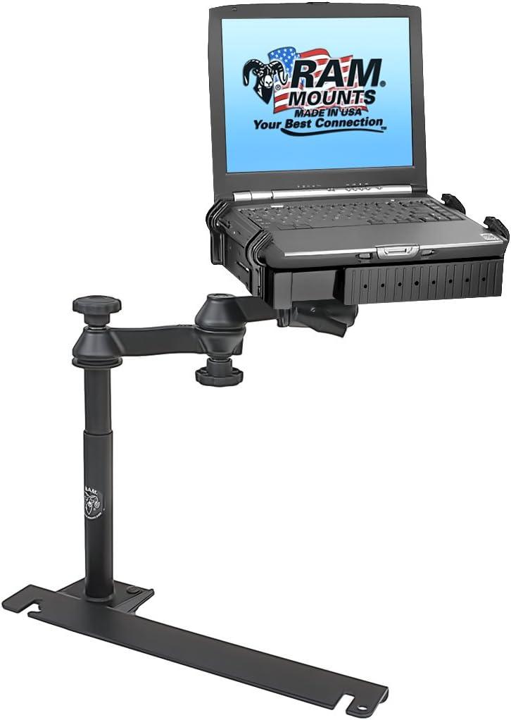 Adjustable Auto Vehicle Car SUV Van Laptop Mount Stand Holder Non-Drilling