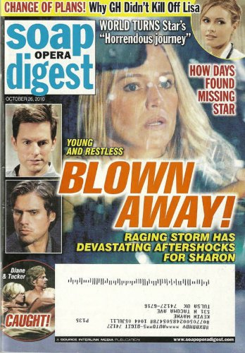 Sharon Case, Maura West, Stephen Nichols, Joshua Morrow & Michael Muhney (Young & the Restless) l Brianna Brown - October 26, 2010 Soap Opera Digest