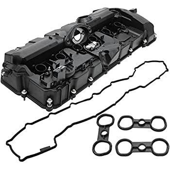 amazon oes genuine valve cover automotive BMW X5 Diesel Specs bapmic 11127552281 engine valve cover with gaskets bolts for bmw e82 e90 e70 128i 328i 528i x3 x5 z4