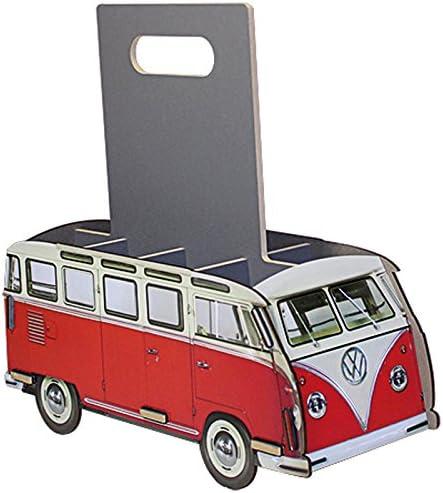 Flaschenträger Sixpack kompatibel mit VW-T1 8er, rot
