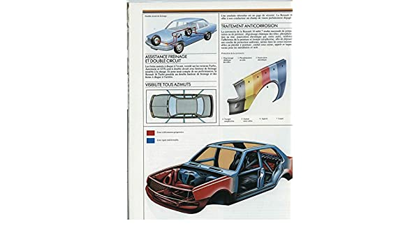 Amazon.com: 1984 Renault 18 TL TD GTL GTD GTX Turbo Brochure French: Entertainment Collectibles