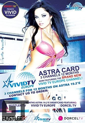 Hustler Tv Dorcel Tv Vivid Astra 19 2 Viaccess Card Elektronik