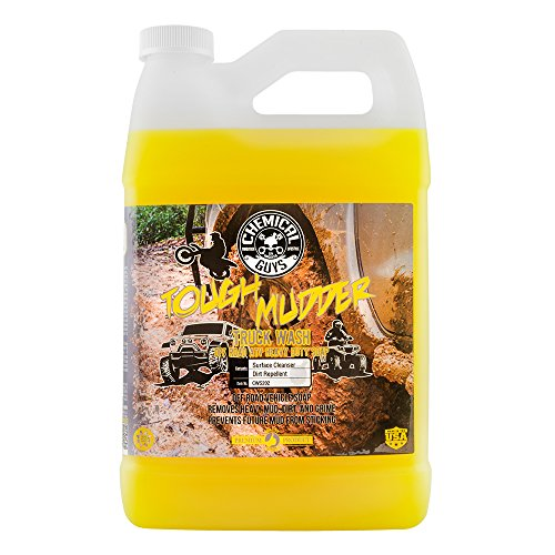 Chemical Guys CWS202 Tough Mudder Truck Wash Off Road and ATV Heavy Duty Soap (1 Gallon), 128. ()