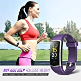 FITFORT Fitness Tracker with Blood Pressure HR