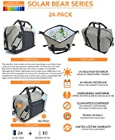 Polar Bear Coolers The Original PERFORMANCE Soft Cooler and Backpack Cooler  - Solar Bear