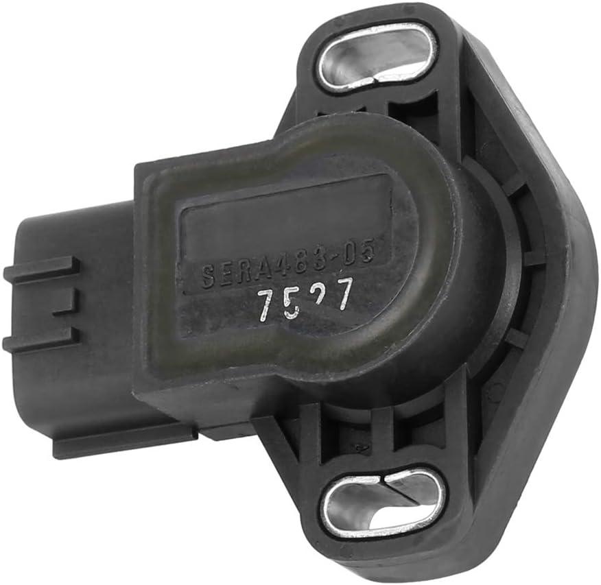 X AUTOHAUX SERA483-05 Car Throttle Position Sensor Replacement for Nissan Pickup 1995-1996