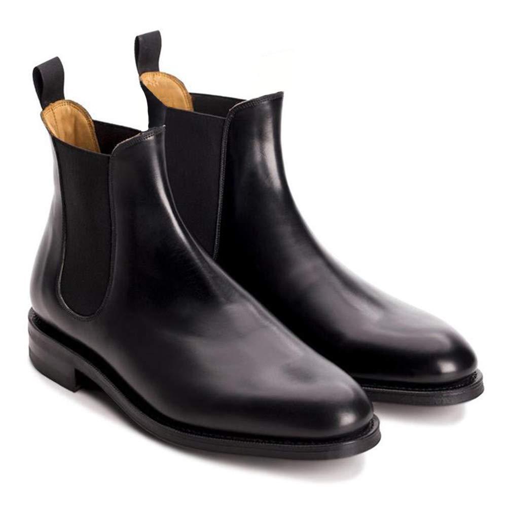 Black Vegan Faux Leather Slip