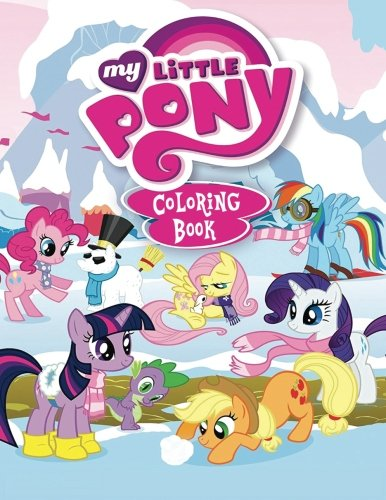 Download My Little Pony Coloring Book: Coloring Book for Kids and Adults 50 illustrations (Perfect for Children Ages 3-5, 6-8, 8-12+) pdf epub