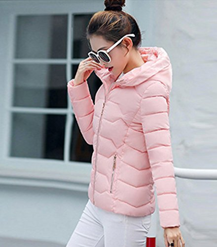 Femme Jacket Yiiquan Veste Court Manteau Hiver x67qOZwA0