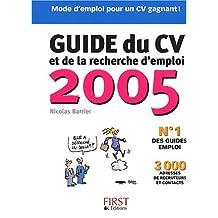 GUIDE DU CV 2005