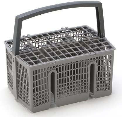 Ángulo de giro de Flex - Cesta de cubiertos para Bosch Siemens Neff Constructa cesta de cubiertos para Lavavajillas No: 668270/00668270