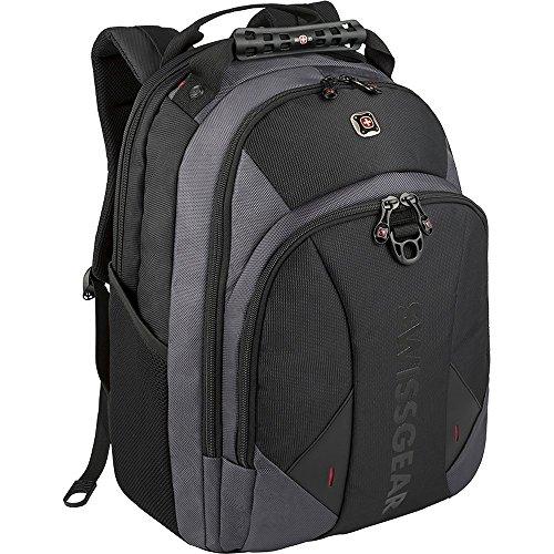 SwissGear Pulsar 16 Padded Laptop Backpack - Black/Gray