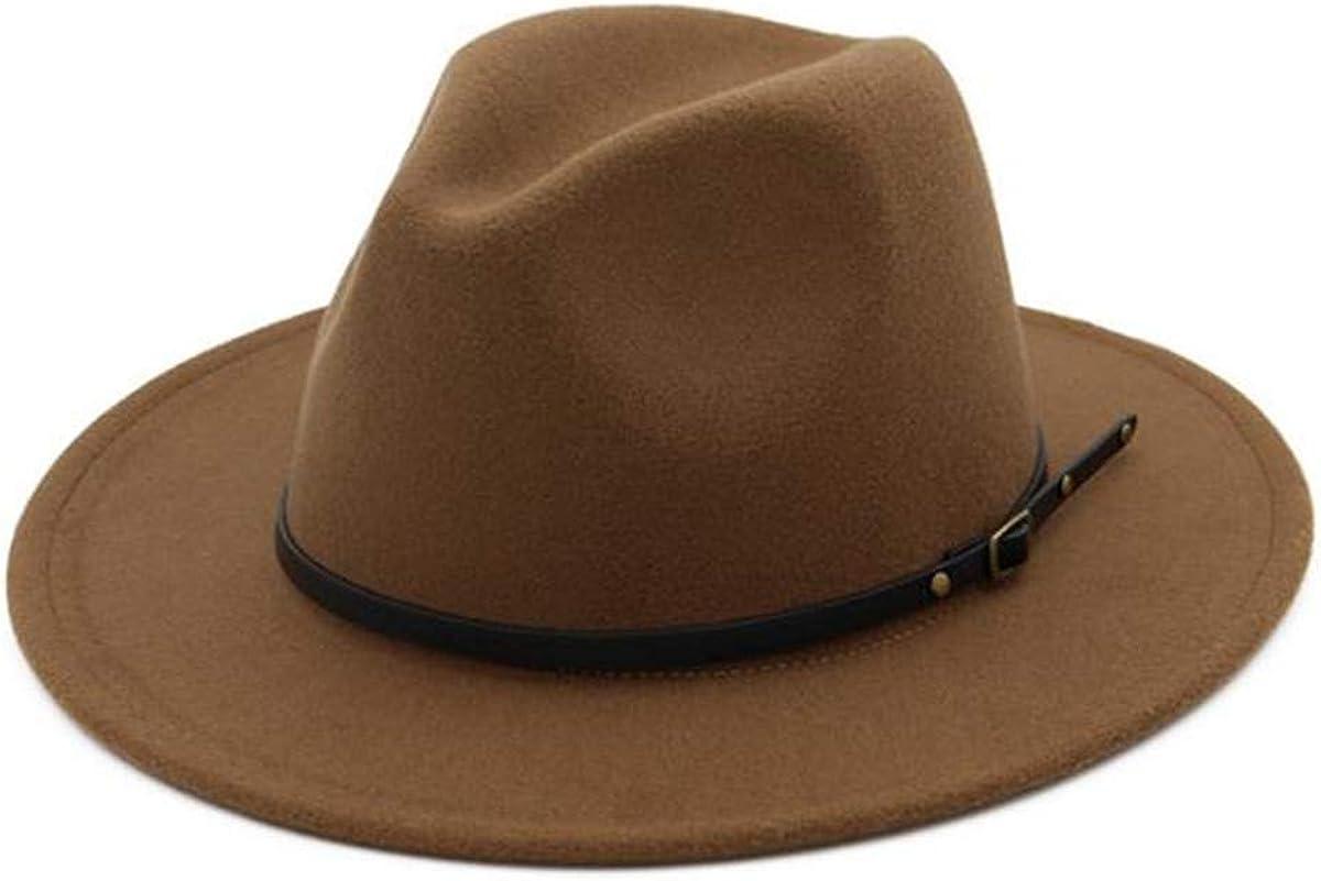 Cappello in lana elegante Panama Longzhuo Fedora