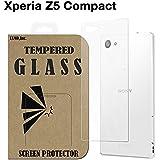 Xperia Z5 Compact 【背面】 ガラスフィルム docomo SO-02H SONY エクスペリアz5コンパクト 背面ガラス 保護 透明 国産強化ガラス ラウンドエッジ加工 Tempered Glass Film 背面 クリア [EXMO,Inc.] EX-XPZ5c-BACK-CL