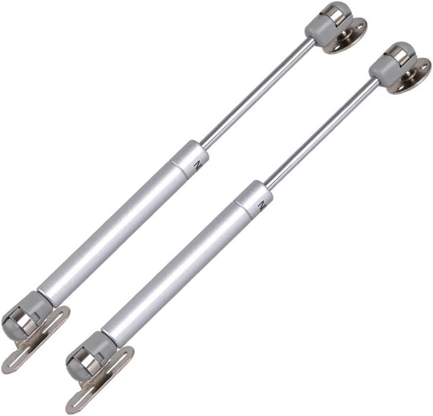 cierre suave resortes de seguridad a gas 2 piezas barra hidr/áulica para puerta de armario amortiguadores bisagra abatible LOREMYI Soporte de elevaci/ón para puerta de armario