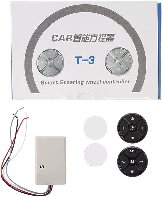 Sidougeri Universal Auto Lenkrad Dvd Gps Wireless Smart Button Key Fernbedienung Auto