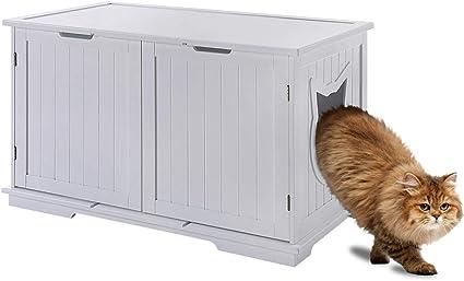 Amazon.com: Sweet Barks - Banco de almacenamiento para gatos ...