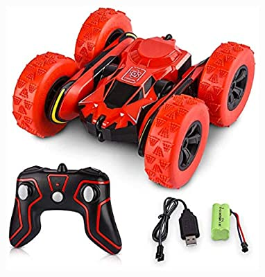 PROGLEAM 2.4G Stunt RC Car Double Sided Rotating Tumbling 4WD Remote