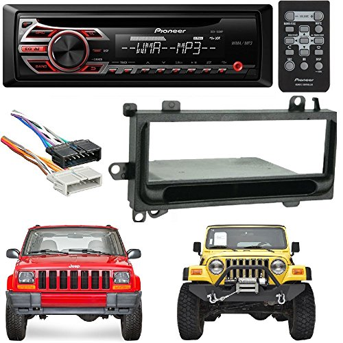 Pioneer DEH-150MP Single DIN Car Stereo with MP3 Playback Me
