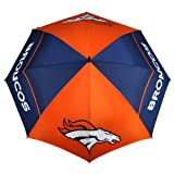 NFL Denver Broncos 62-Inch WindSheer Hybrid Umbrella