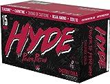 ProSupps HYDE POWER POTION Energy Drink, 350 mg Caffeine, Zero Sugar, Zero Carbs, Carbonated 16 oz, 15-count Box (Cherry Cola Flavor)
